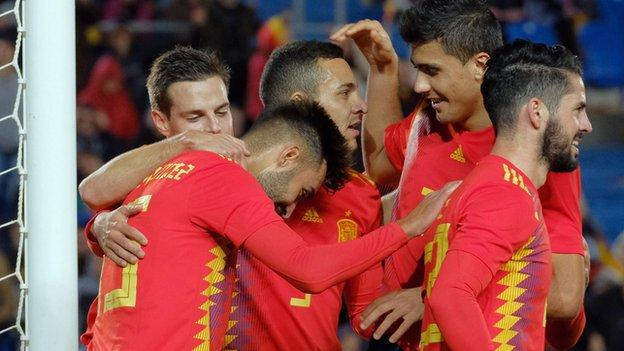 UEFA Nations League 2018 Report: Spain 1 Bosnia-Herzegovina 0 - Mendez debut goal sees Spain beat Bosnia-Herzegovina