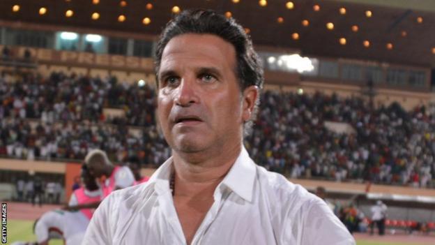 Portuguese coach Paulo Duarte
