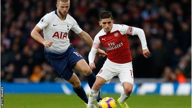 Lucas Torreira of Arsenal