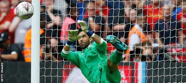 Bravo saves a penalty