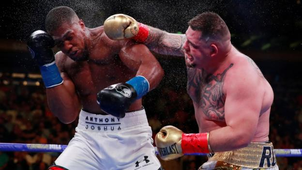Anthony Joshua v Andy Ruiz Jr: 5 Live's Costello & Bunce debate push for rematch thumbnail