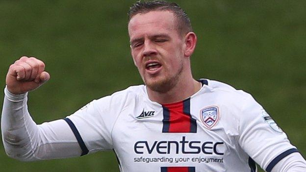 It was a game to remember for Aaron Canning as he scored a double for Coleraine