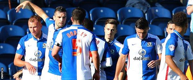 Blackburn players