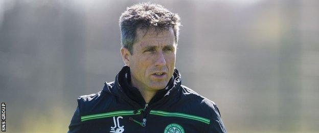 John Collins is looking for a swift return to management