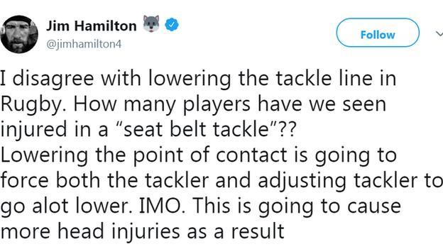 Jim Hamilton tweet