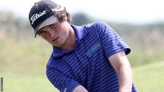 Cormac Sharvin shot an opening round 68 at the Perth International