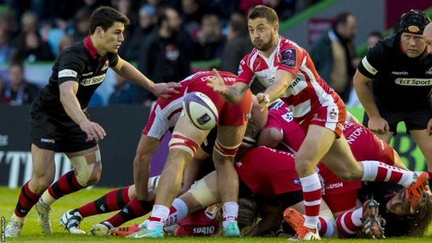 Greig Laidlaw in action