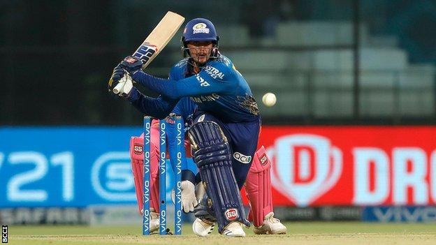 IPL: Quinton de Kock hits 70 as Mumbai beat Rajasthan Royals by seven wickets thumbnail