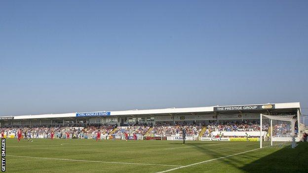 Dover climbed to fifth place in the National League table after their win at Hartlepool
