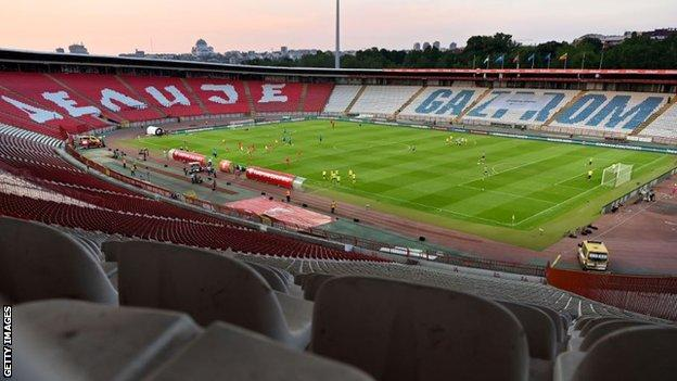 Serbia's Euro 2020 qualifier at home to Luxembourg to be played behind closed doors