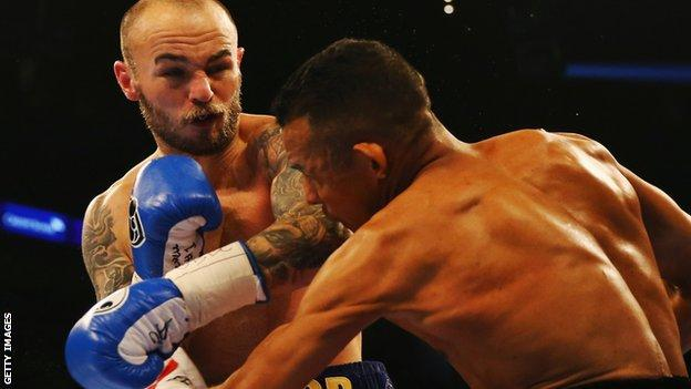 Mitchell last fought on 12 December last year