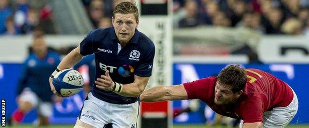 Finn Russell has flourished in the number 10 role for Scotland