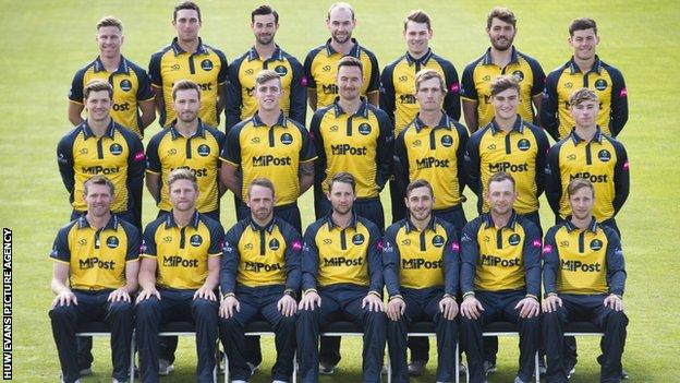 Glamorgan 2019 playing staff