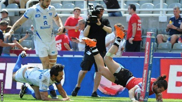 Toronto Wolfpack have won all three meetings so far this season with their likely Million Pound Game opponents Toulouse, the heaviest of them 43-30 at Magic Weekend in May