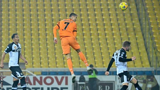 Parma 0-4 Juventus: Cristiano Ronaldo scores twice - BBC Sport