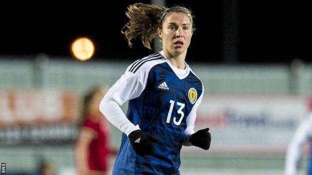 Scotland forward Jane Ross