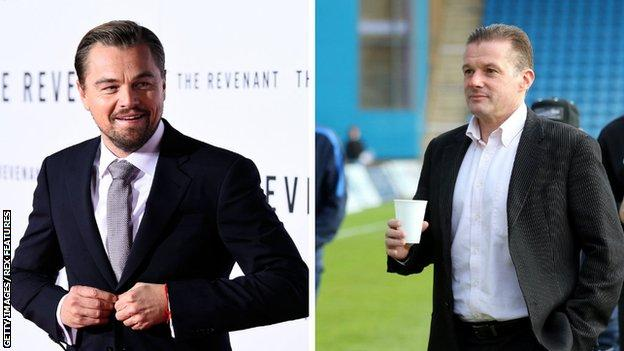 Leonardo DiCaprio and Graham Westley