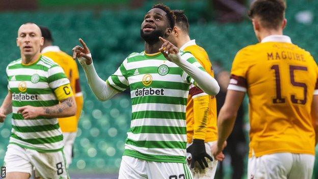 Odsonne Edouard scored Celtic's crucial second goal