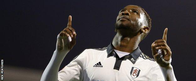 Moussa Dembele of Fulham