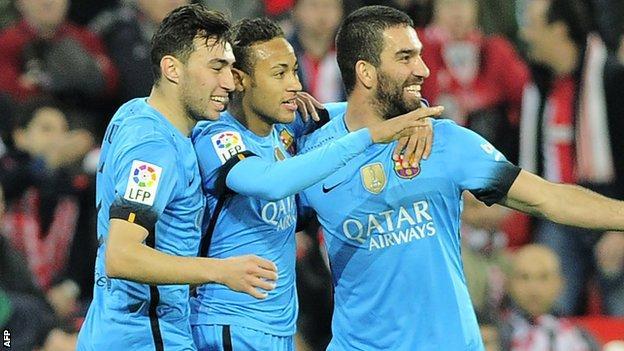 Barcelona visit Malaga in La Liga on Saturday