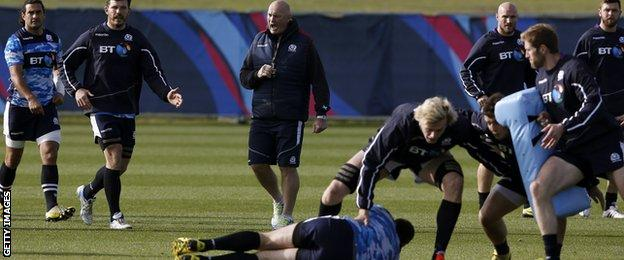 Vern Cotter and Scotland