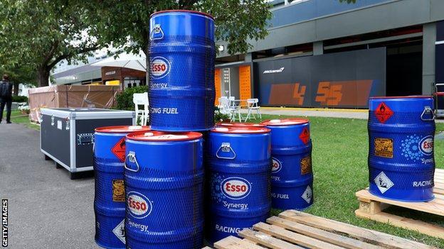 Fuel at F1