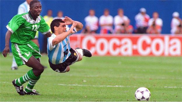Diego Maradona กับไนจีเรีย