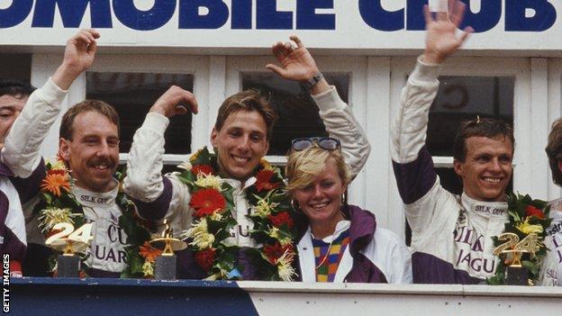 Johnny Dumfries: Ex-F1 driver & Le Mans 24 Hours winner dies aged 62 - BBC  Sport
