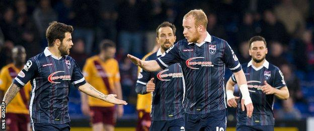 Liam Boyce netted his 19th goal of the season