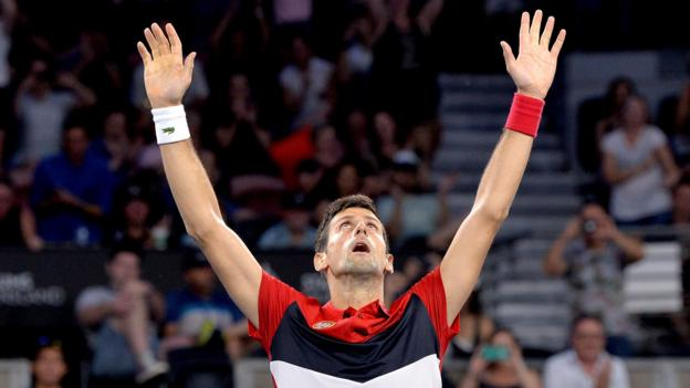 ATP Cup: Novak Djokovic-inspired Serbia beat France to reach quarter-finals thumbnail