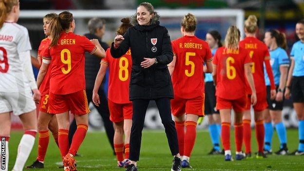 Gemma Grainger's three games as Wales boss to date have all been friendlies