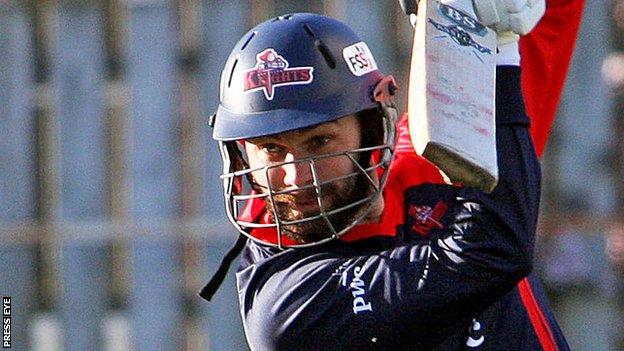 Northern Knights batsman James Shannon