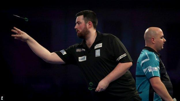 Luke Humphries believes he can win the PDC World Championship after beating Rob Cross