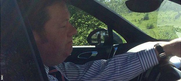 Paul Gilroy QC arrives at Carrington