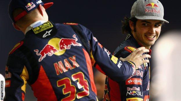 Max Verstappen & Carlos Sainz