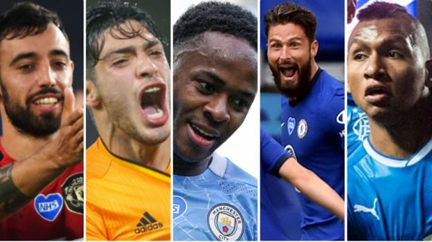 Champions League-Europa League return: Man City, Chelsea, Man Utd, Rangers & Wolves in action - bbc