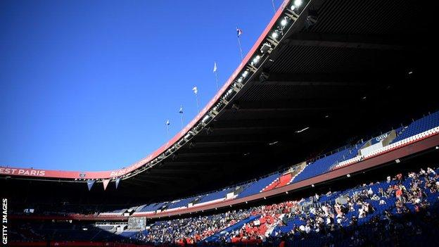 Paris St-Germain's Parc des Princes ground
