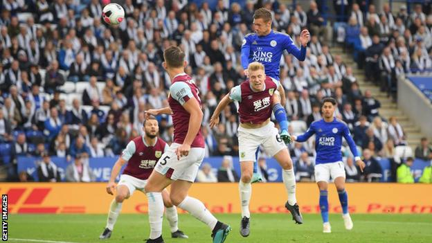 Leicester City v Burnley in October 2019