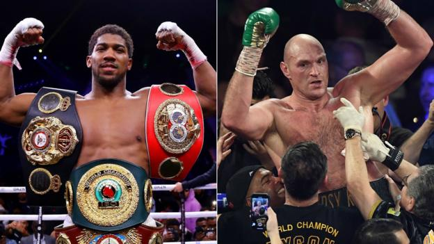 Hearn 'ready' to seal deal for Joshua v Fury December fight