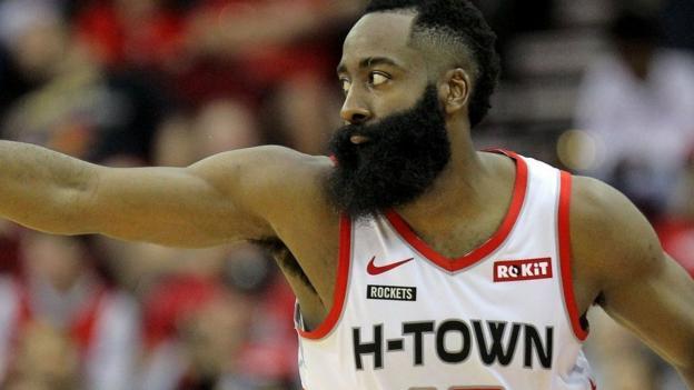 James Harden scores 60 points as Houston Rockets beat the Atlanta Hawks 158-111 thumbnail