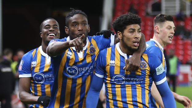 FA Cup third round: Stoke City 2-3 Shrewsbury thumbnail