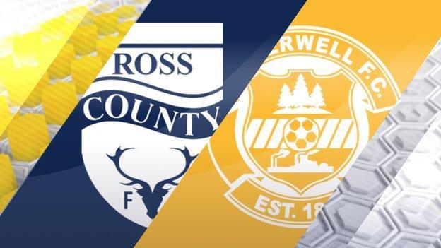 Ross County v Motherwell