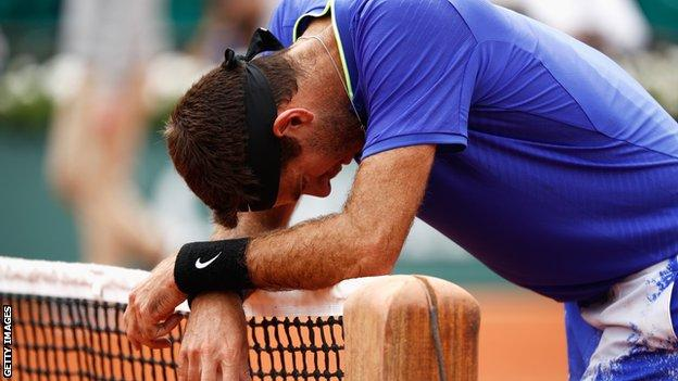 Andy Murray beats Juan Martin del Potro at the French Open