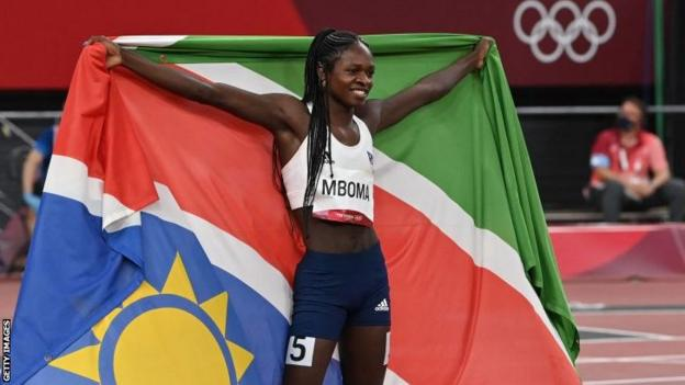 Tokyo Olympics: Historic silver for Namibia's Christine Mboma as Nigeria  and Ghana win medals - BBC Sport