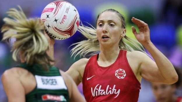 Netball World Cup 2019: 'I can't quit now, I want another gold' - Jade Clarke thumbnail