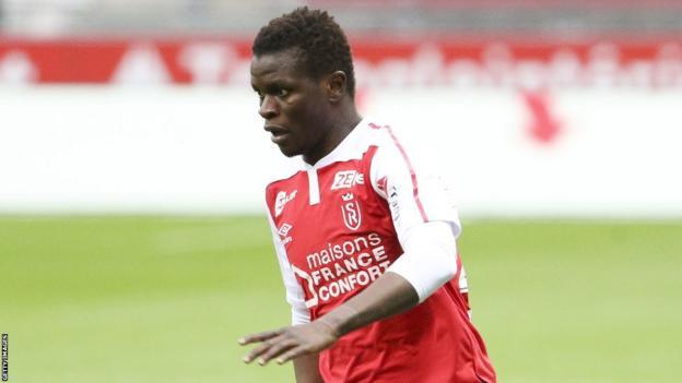 Reims and Mali's Moussa Doumbia