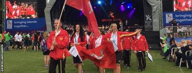 The Isle of Man topped the medals table at the last Island Games in Bermuda in 2013