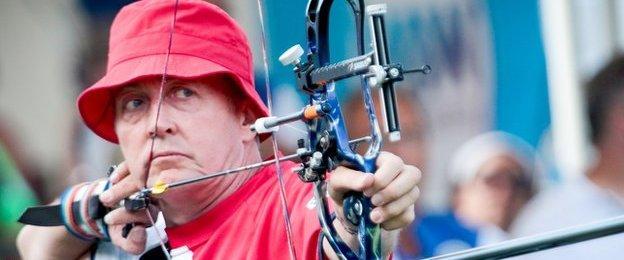 Paralympic archer John Cavanagh