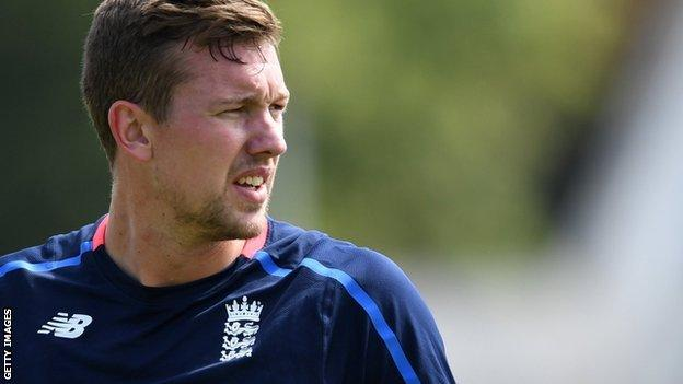 The most recent of Jake Ball's combined total of 24 England appearances were his two T20 internationals in July 2018