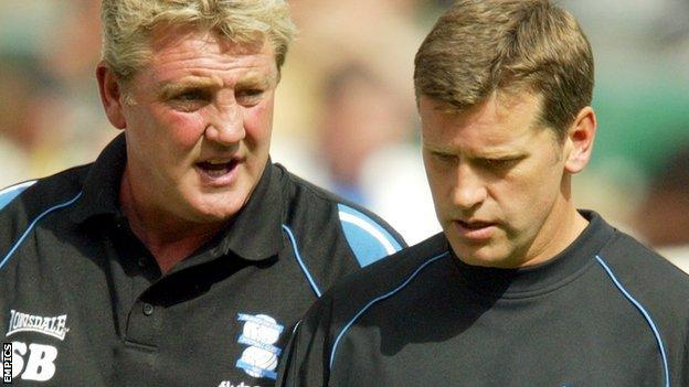Eric Black worked as number two to Steve Bruce, first at Birmingham City, then at Wigan Athletic and also at Sunderland